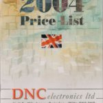 About DNC Electronics - Catalogue 2004