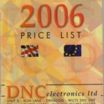 About DNC Electronics- Catalogue 2006