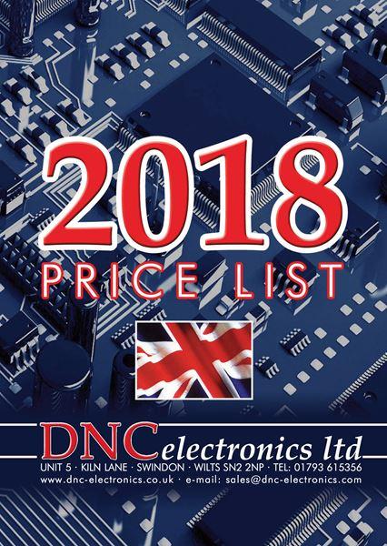 DNC 2018 price list